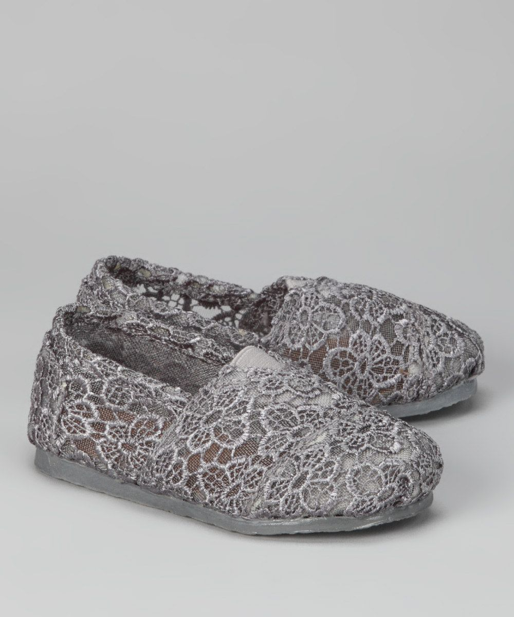 Gray lace