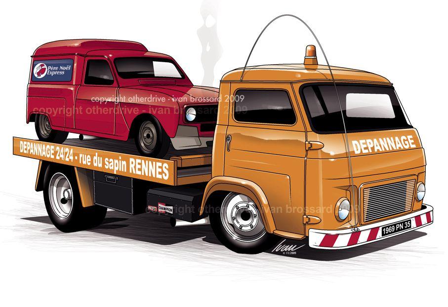 Renault galion renault 4l dessins pinterest voiture renault et voitures anciennes - Dessin vieille voiture ...