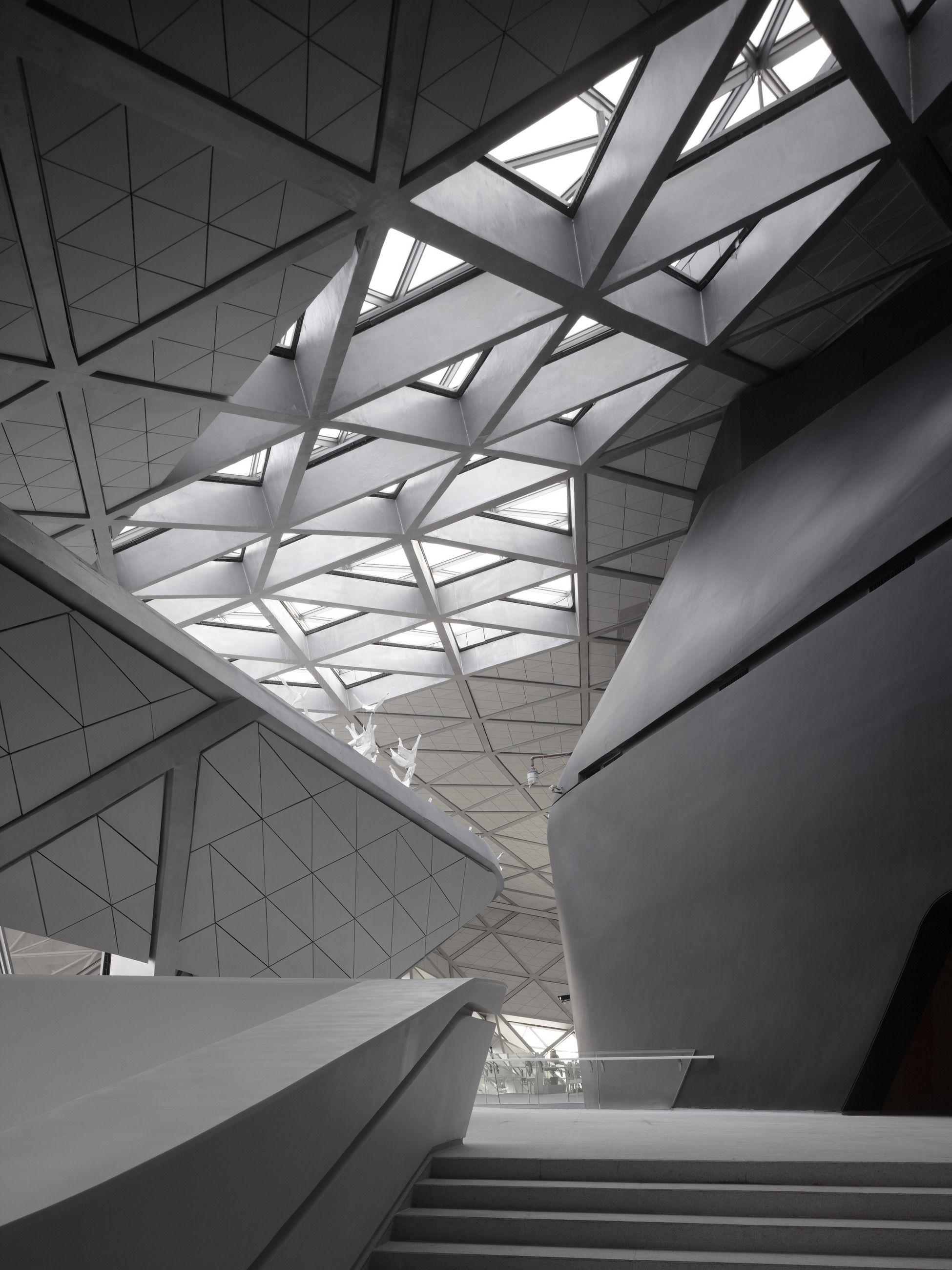 Archello zaha hadid architects pinterest architektur - Zaha hadid architektur ...