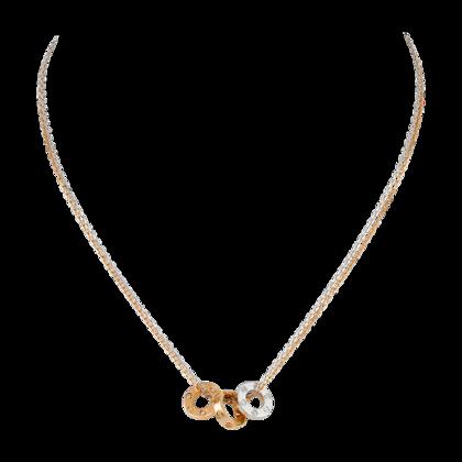 4f4bf186ded7 Collar LOVE - Oro blanco