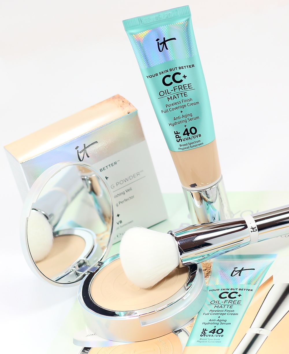 Does it cosmetics cc oil free matte foundation work on