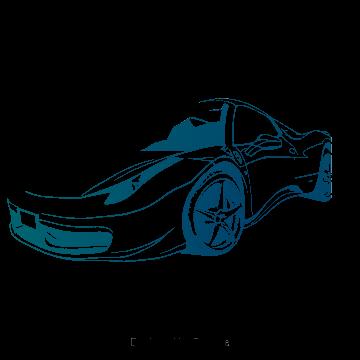 Car Clipart Sports Car Cartoon Car Vector Car Creative Sports Car Blue Vector Car Vector Blue Clipart