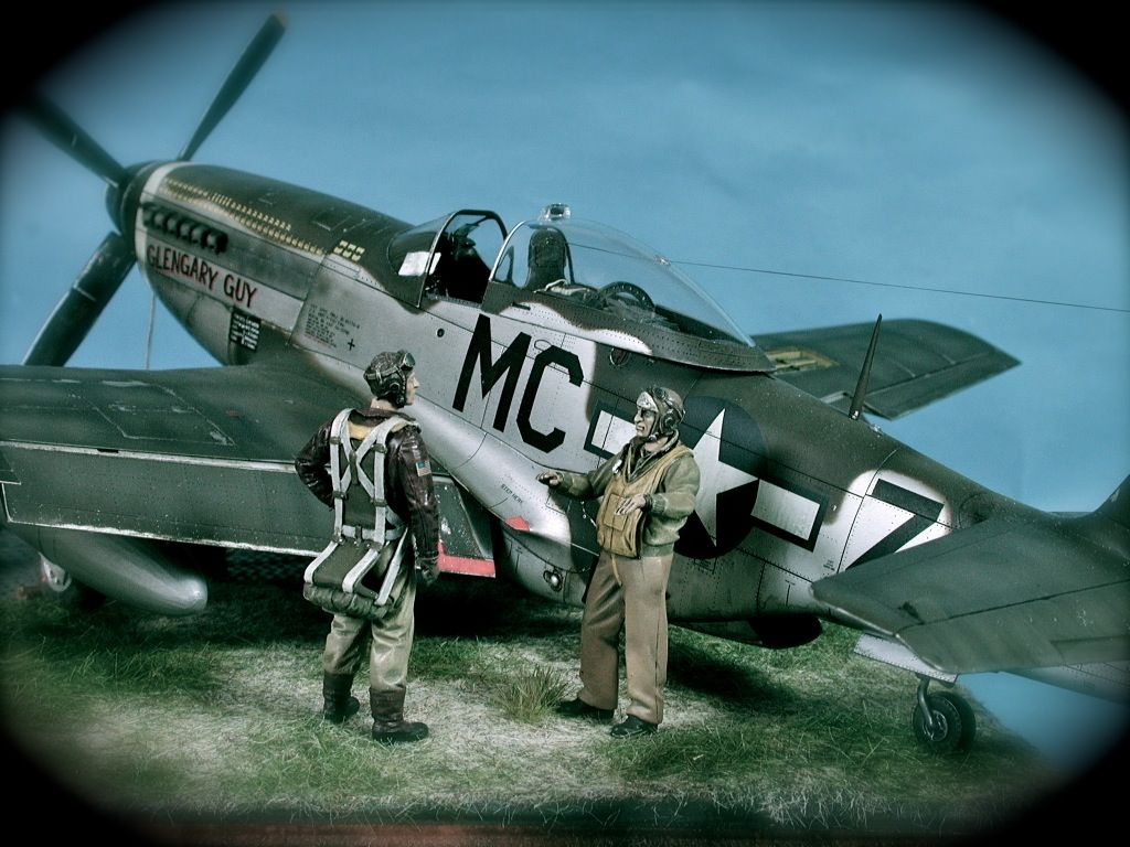 """North American P51D Mustang """"Capt. Glenn Martin Webb"""