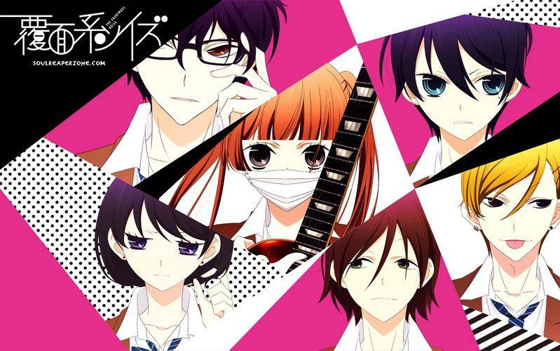 Fukumenkei Noise Anime Manga Anime Manga Illustration