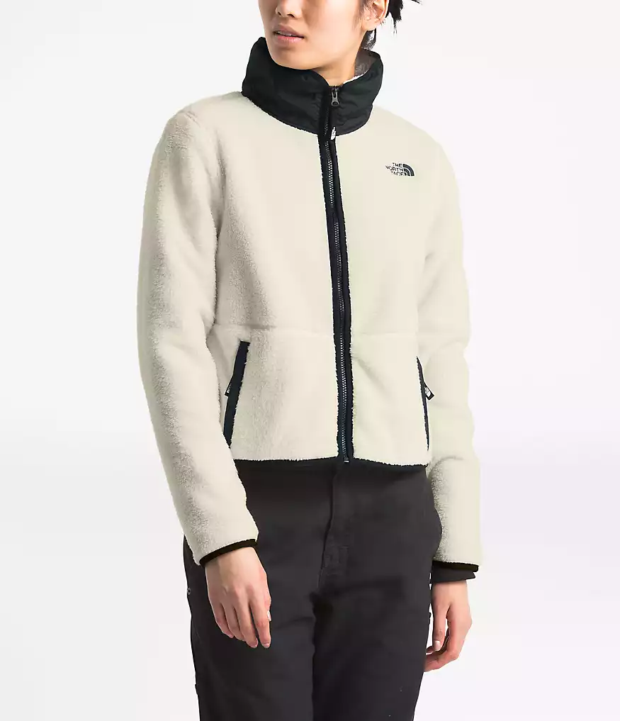 Women S Dunraven Sherpa Crop Jacket The North Face North Face Women Crop Jacket The North Face [ 1017 x 875 Pixel ]