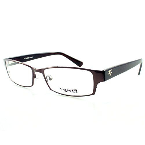 bee79bb7f07 Fatheadz Core FH00185 Mens Extra Extra Large Brown Metal Prescription  Eyeglasses Brown Clear nonpolarized -- You can get more details by clicking  on the ...