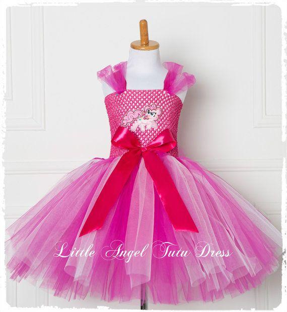 Pinkie Pie mi Little Pony niñas Tutu vestido niños vestido  a63a7364e432