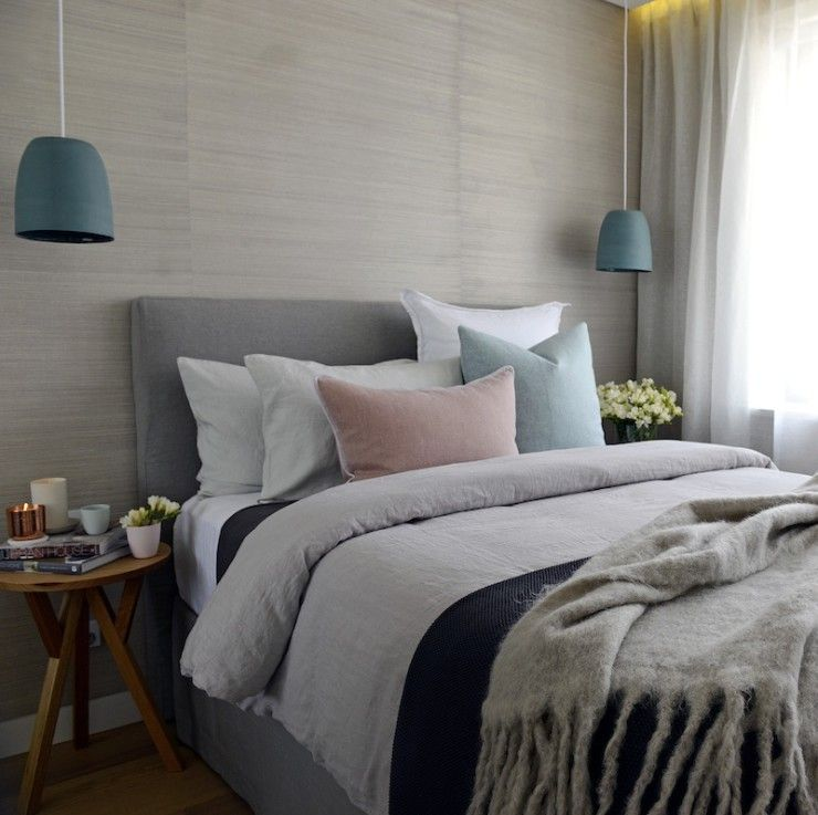Decorating With Grasscloth Wallpaper: Trend Alert: Grasscloth Wallpaper
