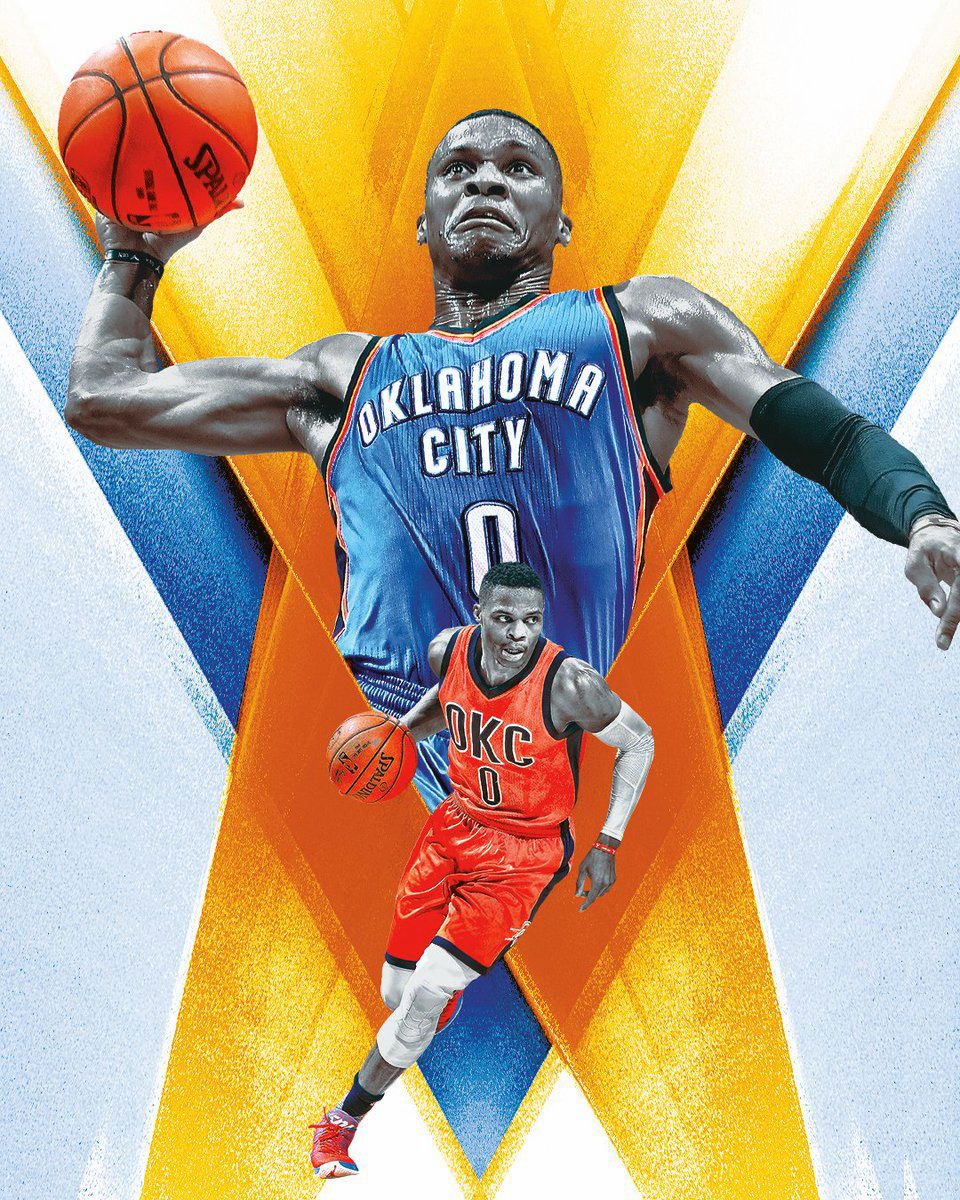 Oklahoma City basketball illustration by Tyson Beck