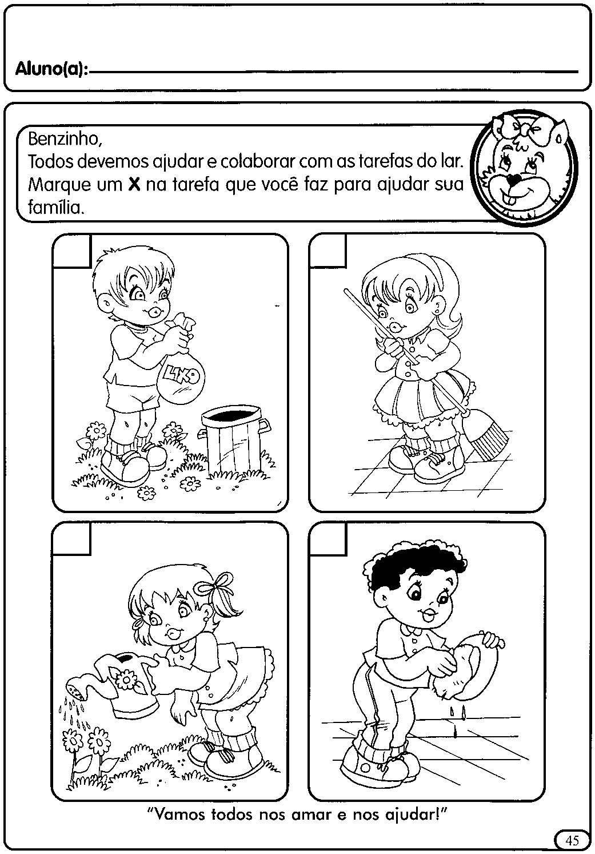 Atividades Sobre A Escola Para Educação Infantil Educação Art E