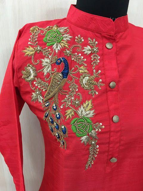 Rajasthani Gota Patti work Suits: Zardausi and thread handwork silk