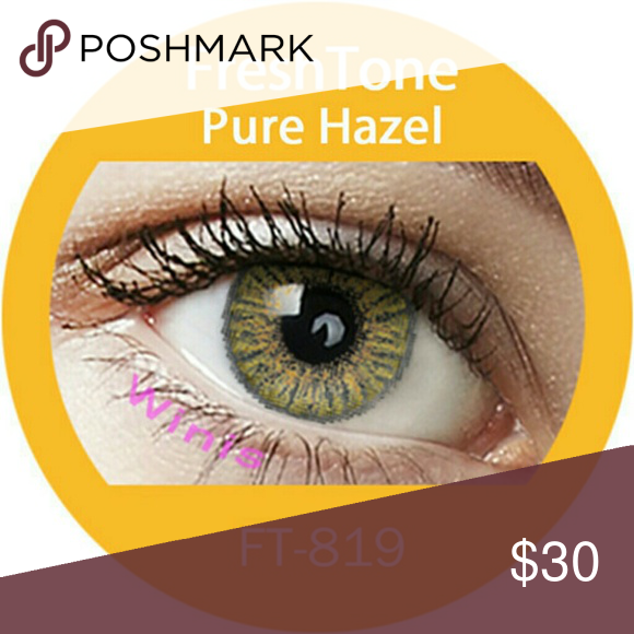 Pure Hazel Freshtone Pure Hazel Freshtone In 3 5 Days Freshtone Makeup Eyeshadow Contact Lenses Colored Green Contacts Lenses Colored Contacts