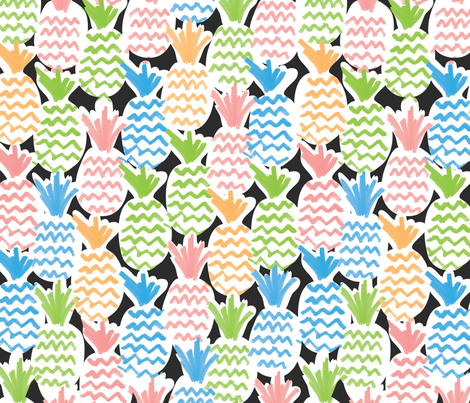 Colorful fabrics digitally printed by Spoonflower - Tall