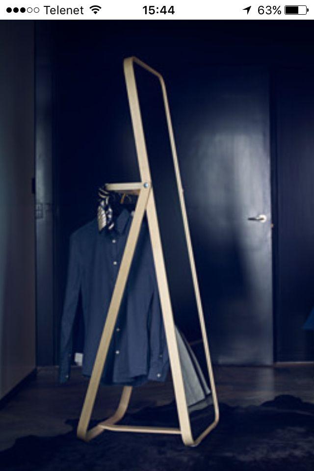 Staande spiegel praktisch IKEA Kamer Pinterest Deco interiors