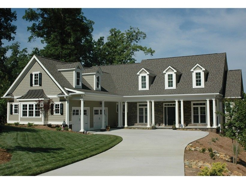 Country Style House Plan 3 Beds