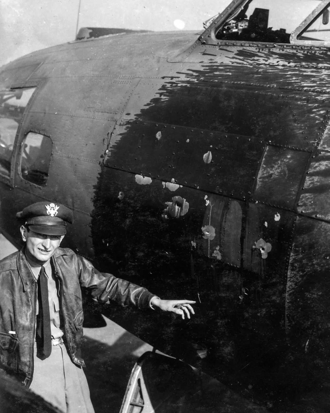B-17 Pilot, 385th Bomb Group, England, August 17, 1943