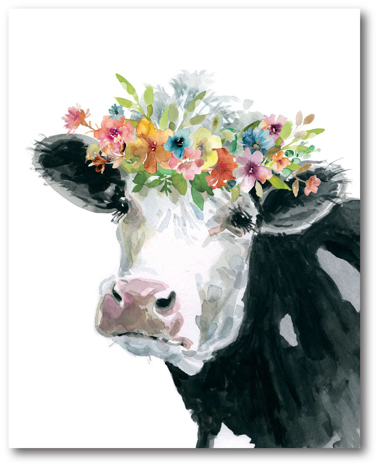 Home In 2020 Cow Canvas Cow Art Cow Painting