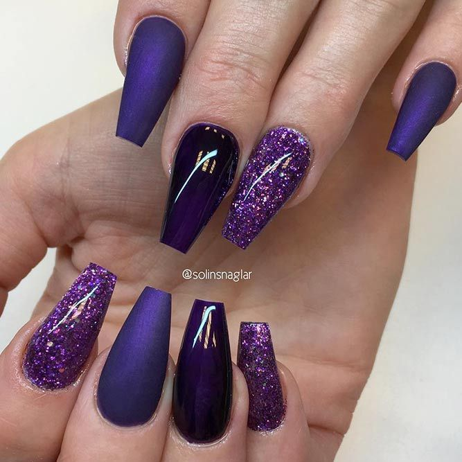 30 Coffin Nail Designs You'll Want To Wear Right Now ...
