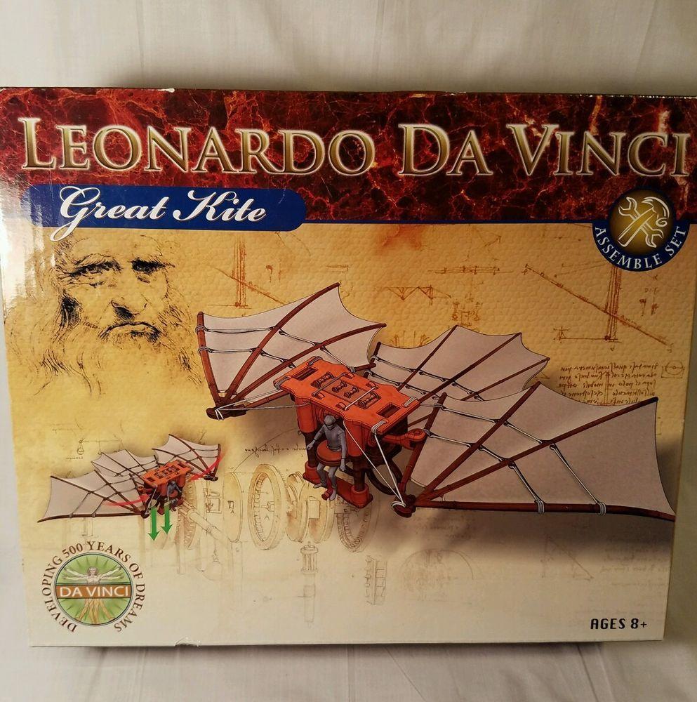 ELENCO 61021 Leonardo Da Vinci Great Kite Plastic Model Kit NEW!!!