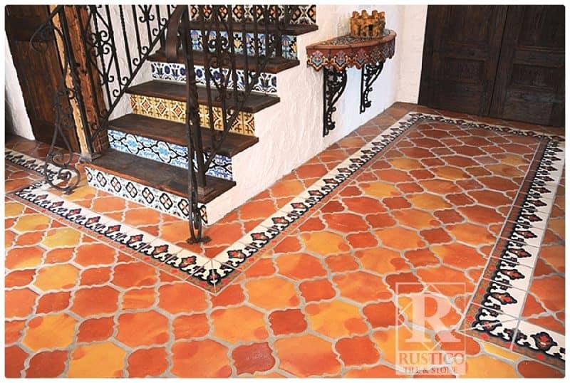 handmade mexican saltillo tile spanish