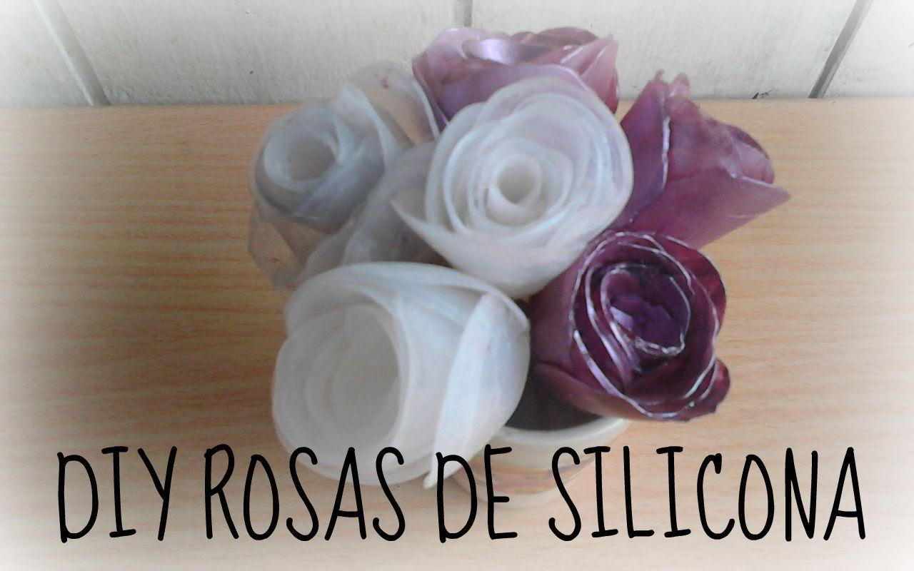 Manualidades Faciles Diy Rosas De Silicona Manualidades Baratas - Manualidades-baratas