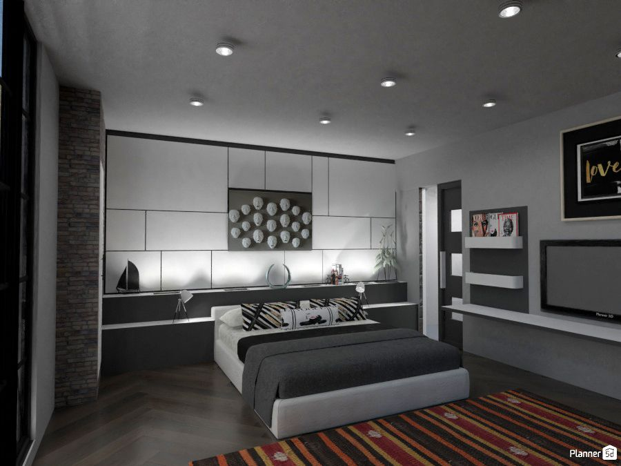 Bedroom Interior Design Planner 5d With Planner 5d You Can Create Even More Check This Awe Master Bedrooms Decor Interior Design Plan Design Your Dream House Room interior design maker