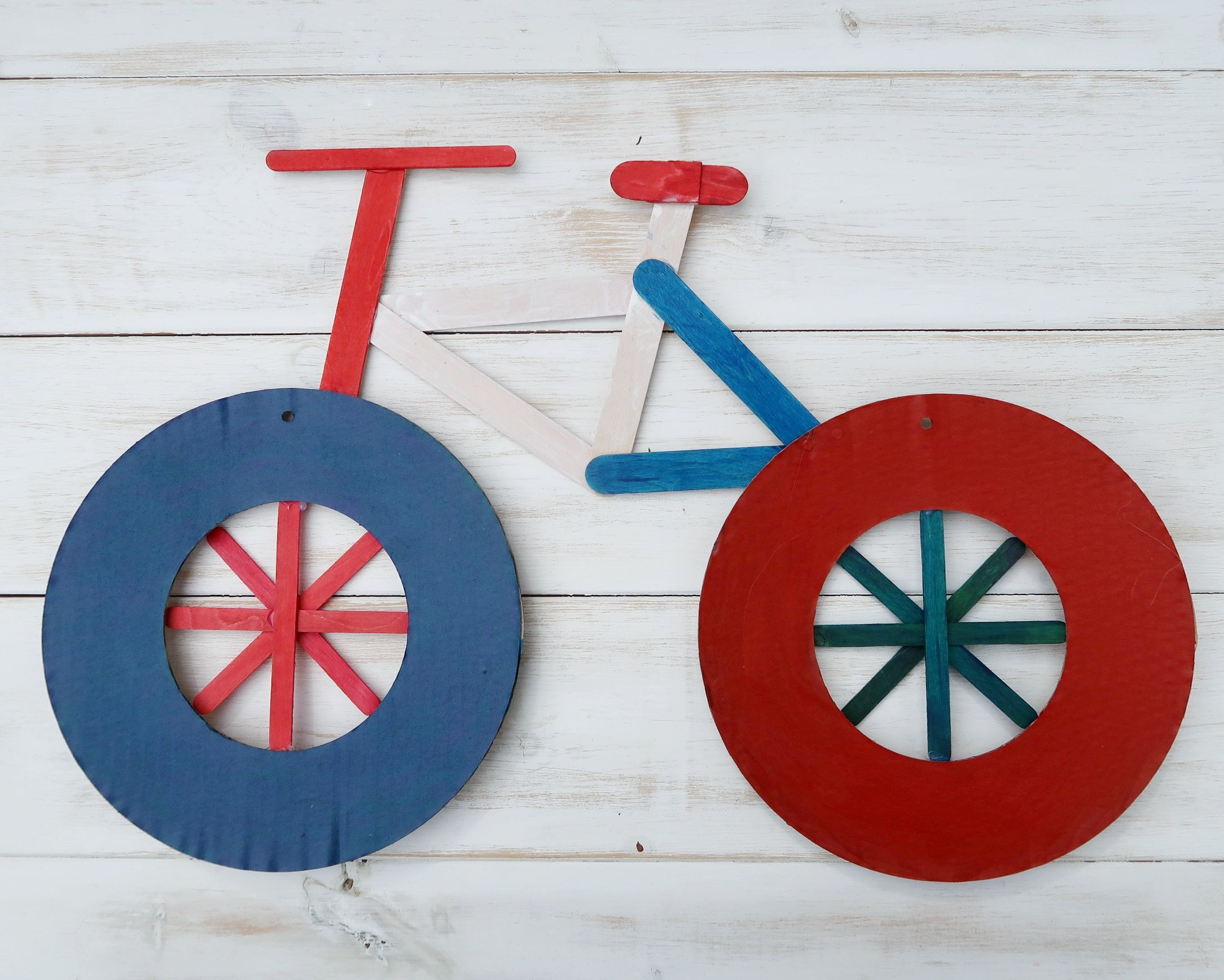 Easy Craft Bicycle Ideas For Preschoolers