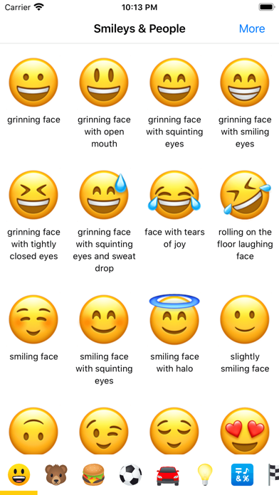 Emoji Meanings Dictionary List App Price Drops Emoji Dictionary Ios Emoji Emojis And Their Meanings