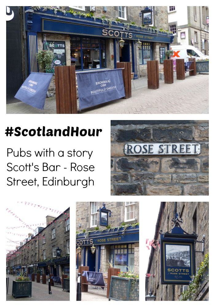 Pubs with a story, one of the questions for March 2014's #ScotlandHour chat.  What's your favourite pub story?