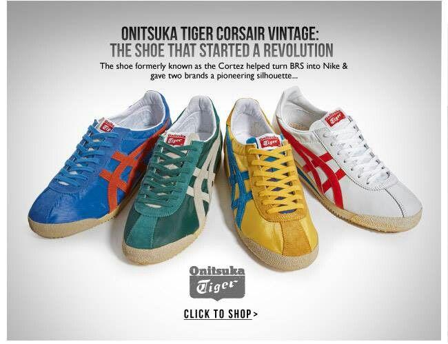 1971 Onitsuka Tiger advert | スニーカー, オニツカタイガー, 靴