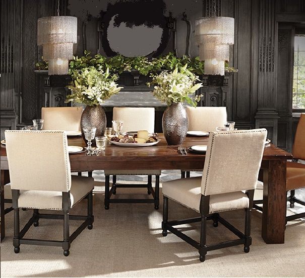 Arhaus Rio Table Vail Chairs