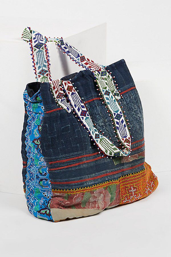 Technicolor Embellished Tote by Tricia Fix at Free People  c6a68dd6df7ae