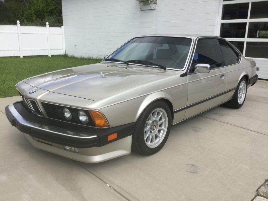 1987 Bmw 635csi 5 Speed