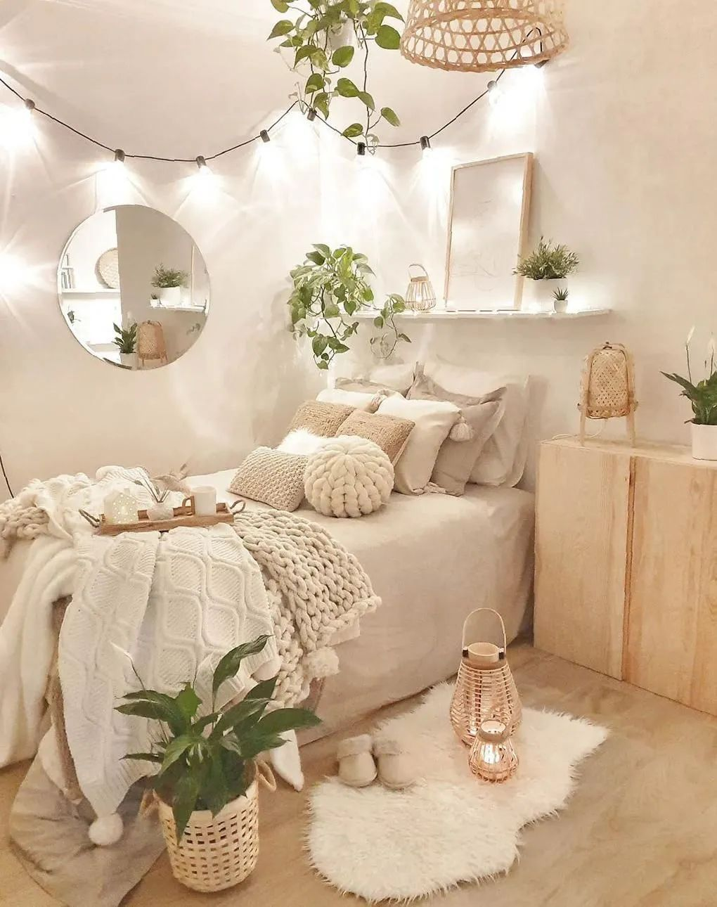 I Wanna Have Such Wonderful Bedroom Room To Fulfill My Utopia Latest Fashion Trends For Woman Room Inspiration Bedroom Cozy Room Redecorate Bedroom