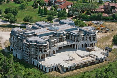 the unfinished versailles mansion in windemere florida hell if i were rich id finish that thing