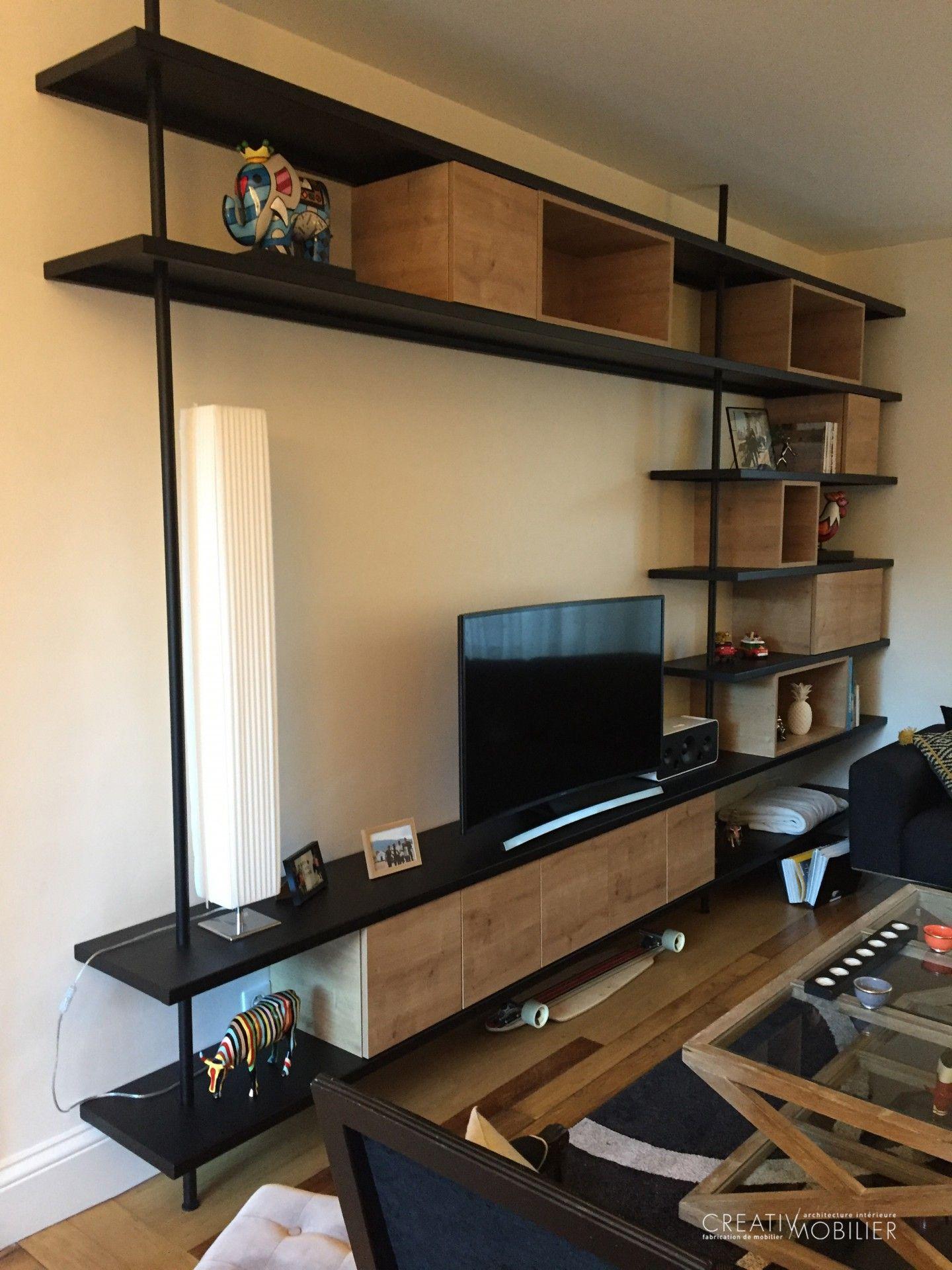 bibliotheque meuble tv 04 grand