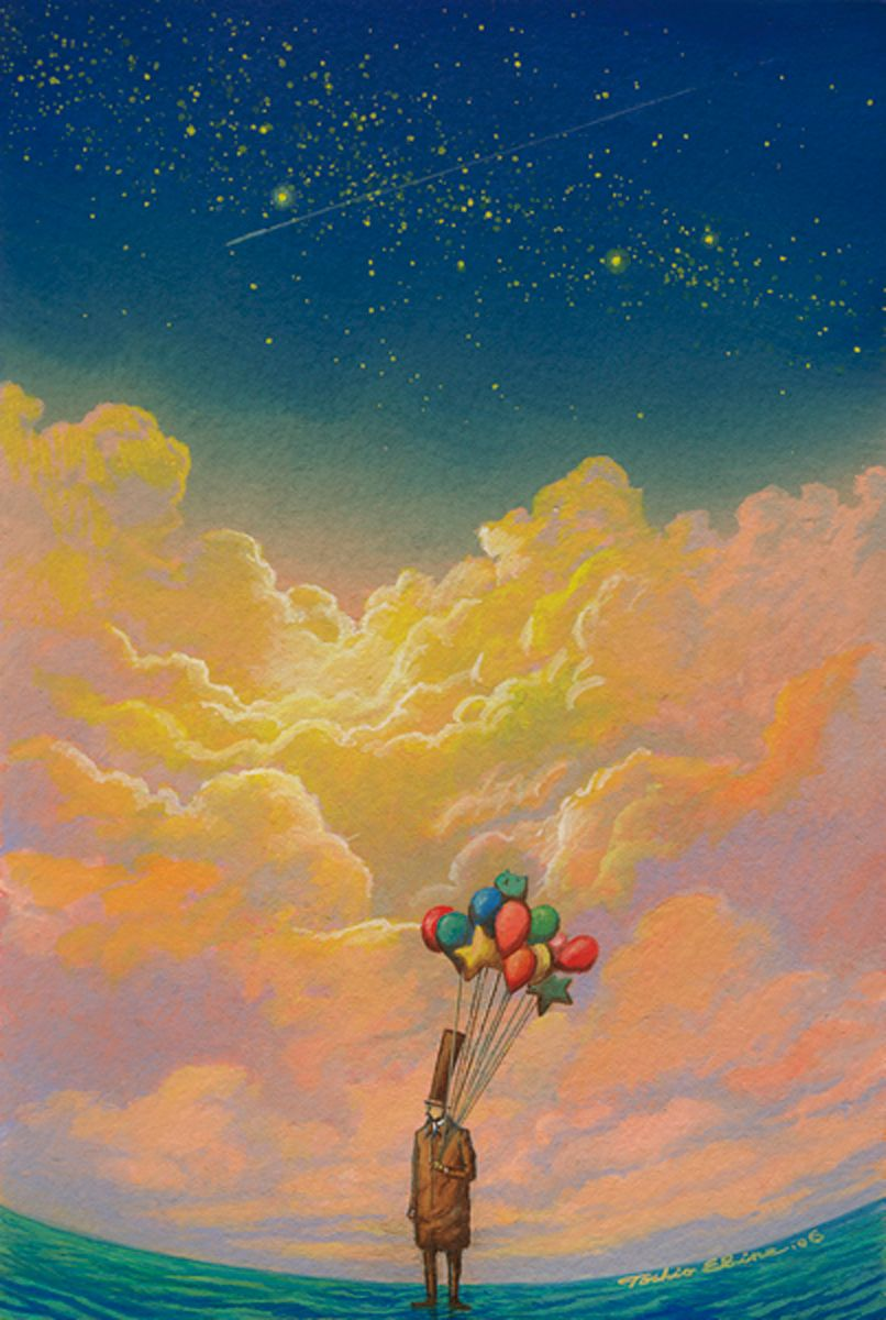 Toshio Ebine Sky Art Art Wallpaper Iphone Epic Art