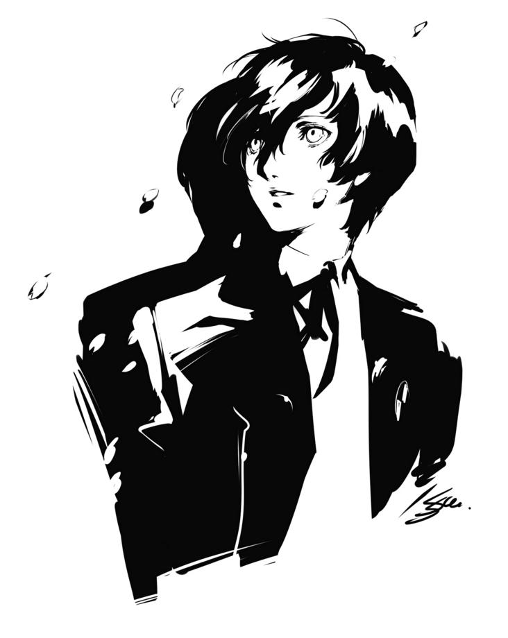 Protagonist Persona 3 Megami Tensei Wiki Fandom Persona Persona 5 Persona Q