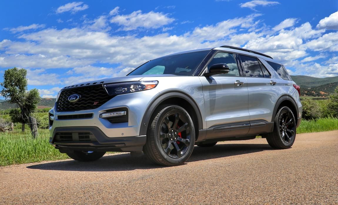 First Drive Of The 2020 Ford Explorer St Performance Suv 2020 Ford Explorer Ford Explorer Ford Explorer Sport