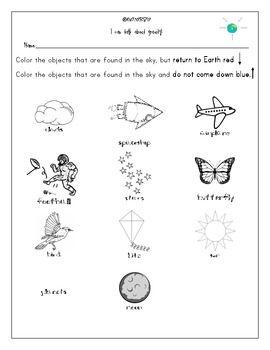 Gravity Mini Unit Worksheets Activities Experiments