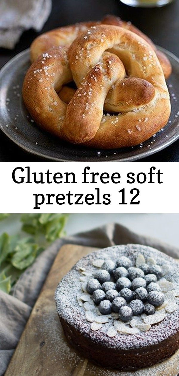 Gluten free soft pretzels 12 Gluten Free Soft Pretzels  Auntie Annes Mall Style  Gluten Free on a Shoestring Moist nutty fluffy and light this naturally glutenfree and da...
