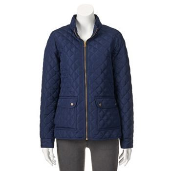 Croft & Barrow® Quilted Jacket - Women's | C&B Fall/Holiday 15 ... : croft and barrow quilted vest - Adamdwight.com