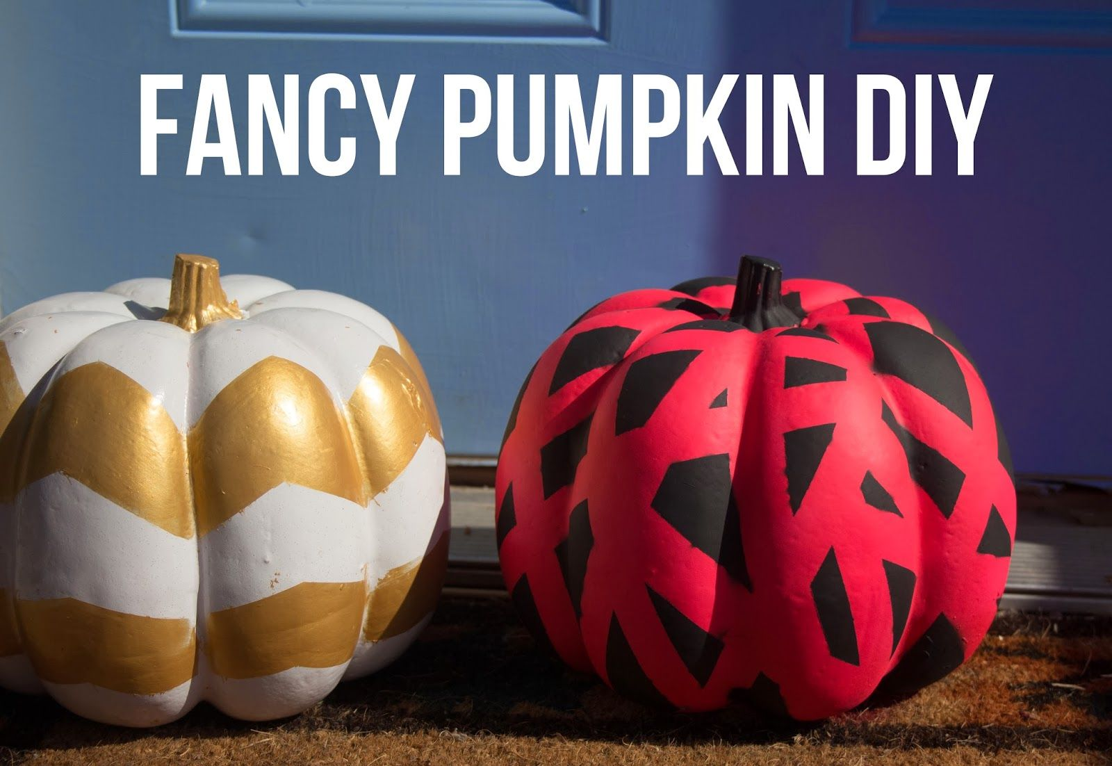 Fancy Pumpkin Diy Diy Pumpkin Pumpkin Decorating Diy Halloween