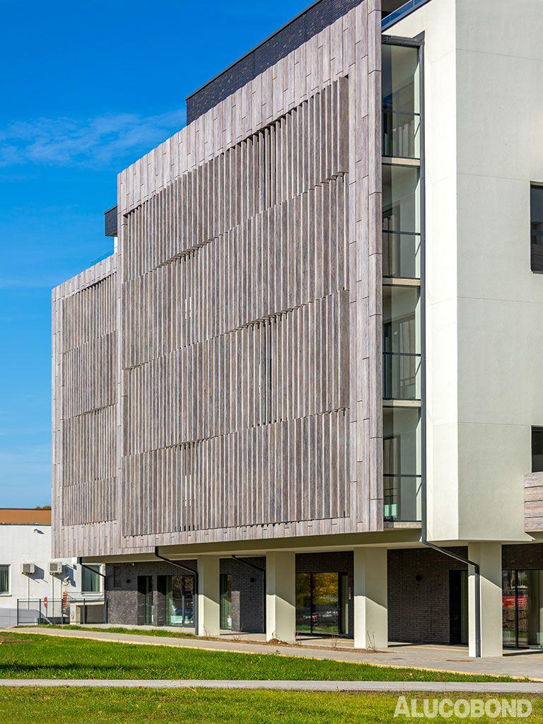 P 9 Paplaujos Apartments Architecture Energy Efficient Construction Alucobond