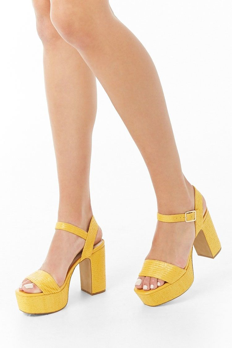 Chunky Platform Heels | Forever 21