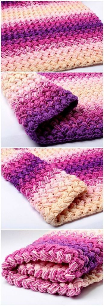 45 Quick And Easy Crochet Blanket Patterns For Beginners Easy