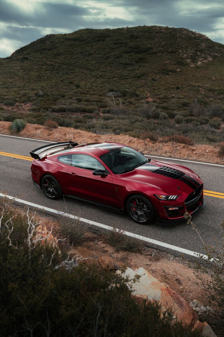 New, 2020 Ford Mustang Shelby GT500, red look Shelby