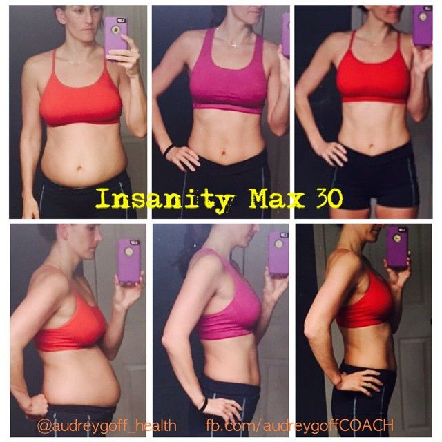 My 60 day results from Insanity Max 30! fb com