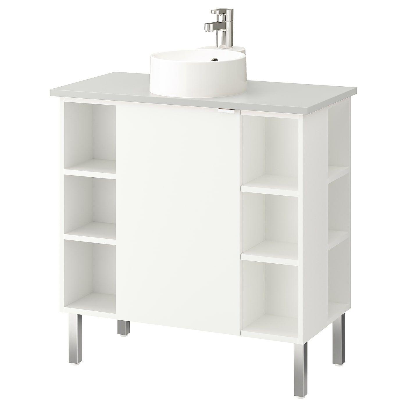 IKEA LILLÅNGEN/VISKAN / GUTVIKEN Bathroom vanity/1 door