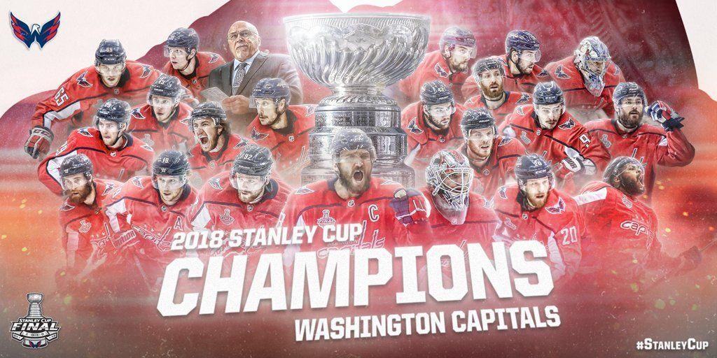 51d4795c324ea6 Washington Capitals - 2018 Stanley Cup Champions | The Caps ...